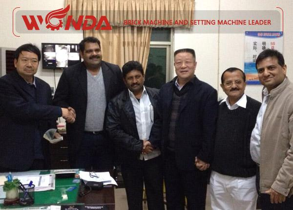 China-Brick-Machine-Export-to-India
